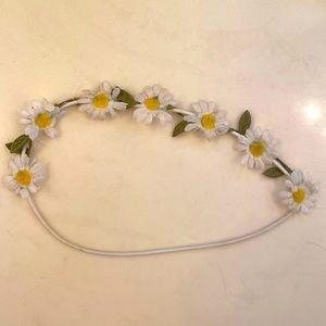 Daisy Flower Child Headband